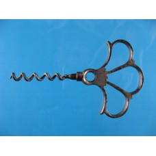 19th Century Steel Corkscrew Plume