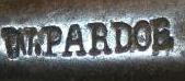 Steel Double Folding Pocket Corkscrews Marked W Pardoe are Late 18th Century.