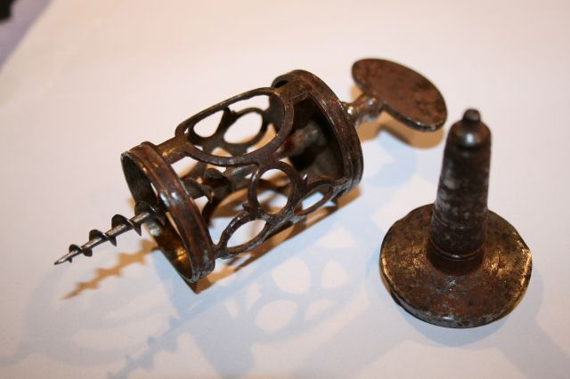 Early Mechanical Corkscrews from the 18th and Early 19th Centuries.