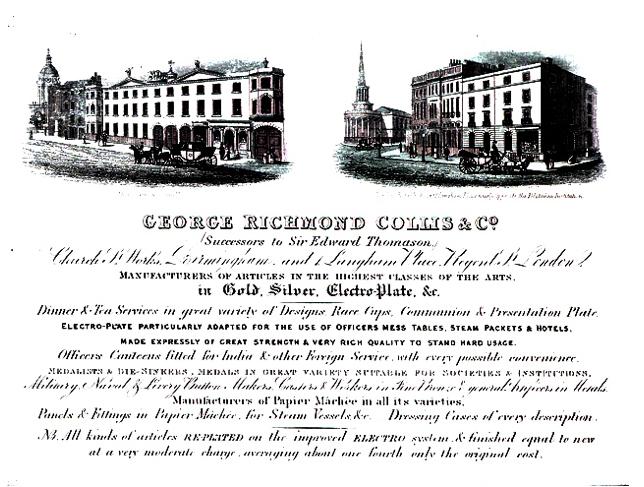 Were corkscrews made at Sir Edward Thomason's manufactory after 1835?
