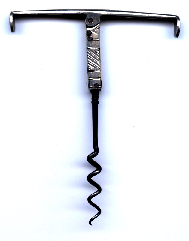 Images of Silver Double Folding Pocket Corkscrews.