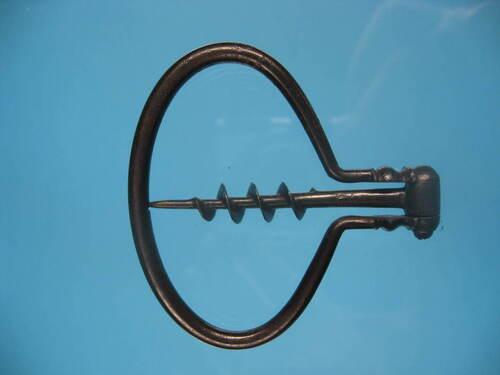Early Steel Bow Corkscrew.